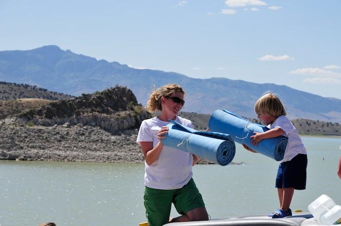 Yuba Reservoir Boat Trip