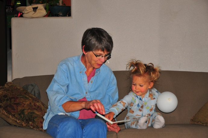 Grandpa & Grandma H visit