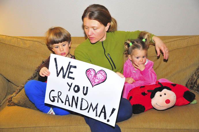 Great Grandma Fedie's 90th Birthday Card