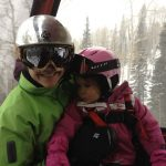 Kari and Tegan on the Gondola