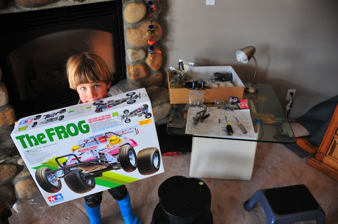 Building up the Frog