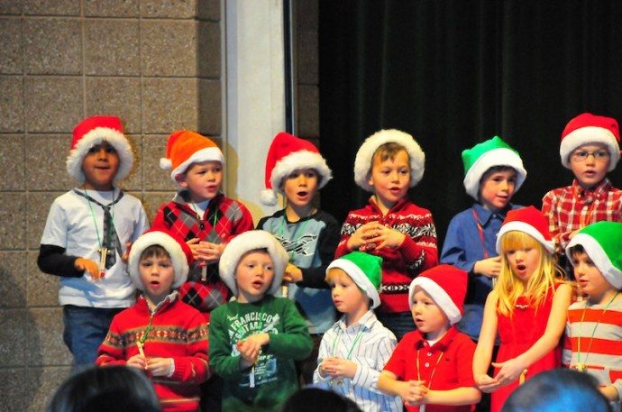 Kindergarten Christmas Carols