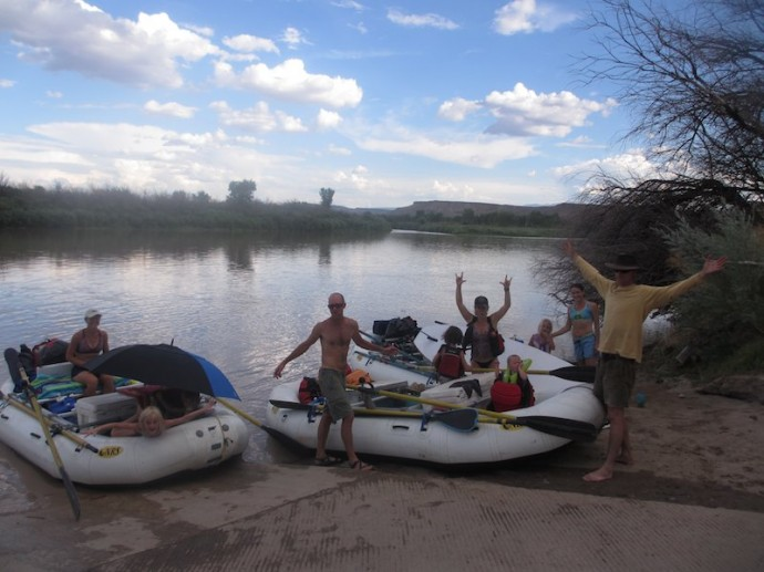 Raft Trip on the Colorado