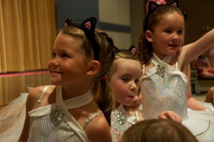 Tegan's dance recital