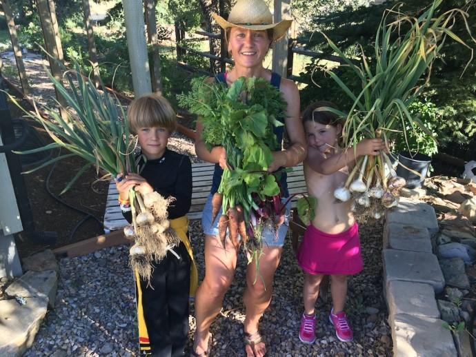 The gardening team.
